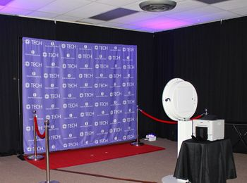 Photo booth at an event